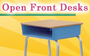 Open Front Desks