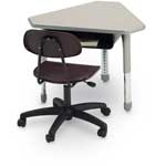 Steel Book Box for Select Collaborative Desks and Tables