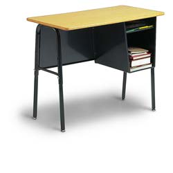 Left Mount Junior Executive Desk